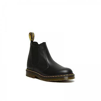 Dr Martens 2976 Mens Leather Slip Resistant Chelsea Boots Black