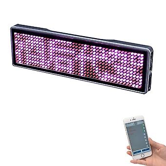 Display Led Name Tag Rechargeable