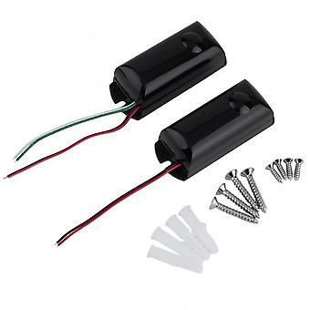 Wired Dual Beams Infrared Ir Barrier Detector New Motion Sensor Outdoor