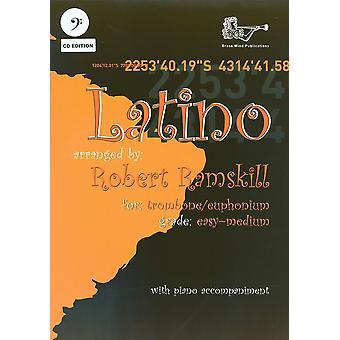Latino for Trombone/Euphonium Bass Clef with CD (Solo Brass - Trombone/Euph)