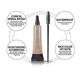 Makeup Eyebrow Cream Long Lasting High-pigment Liquid Brow Tint Waterproof Sweat Resistant Natural Eyebrows for Women and Girls 10ml