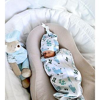 Vauva Puuvilla Sarjakuva Vetoketju Makuupussi Vauva