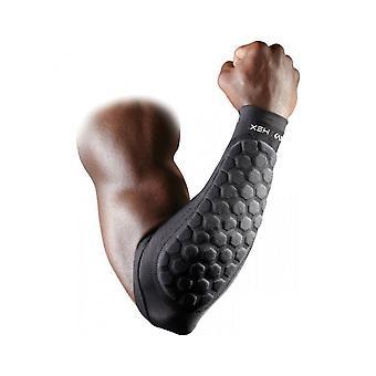 McDavid 651 Sports Hexpad Forearm Guard Arm Sleeve Durable & Flexible - 1 Pair