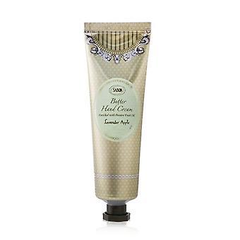 Crema de manos de mantequilla de sabon - manzana de lavanda 75ml/2.6oz