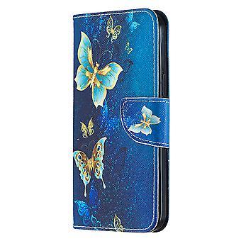 Magnetische Abdeckung für Iphone 12 Pro Max Muster viele Schmetterling