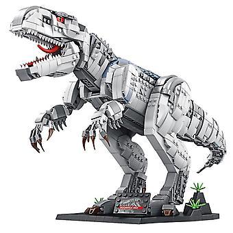Movie Jurassic Dinosaur World Zoo MOC Tyrannosaurus Rex  Gift Small Brick|