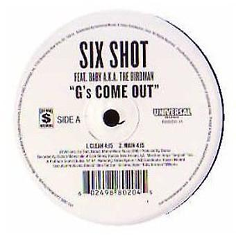 Six Shot - G's Come Out [Vinyl] USA import