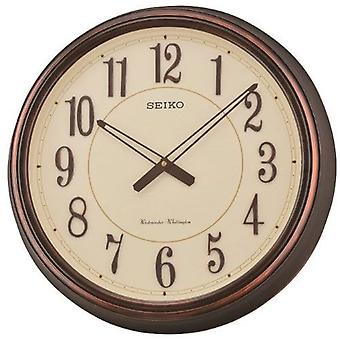 Seiko Westminster/Whittington carillon Dual Wall Clock Beige (QXD212B)
