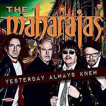 Maharajas - Yesterday Always Knew [CD] USA import