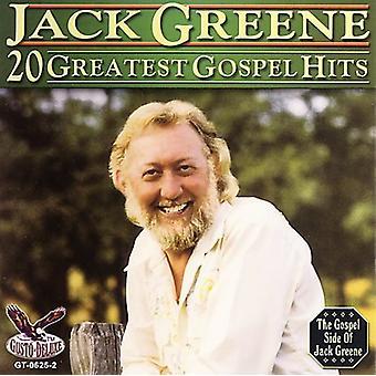 Jack Greene - 20 största Gospel Hits [CD] USA import