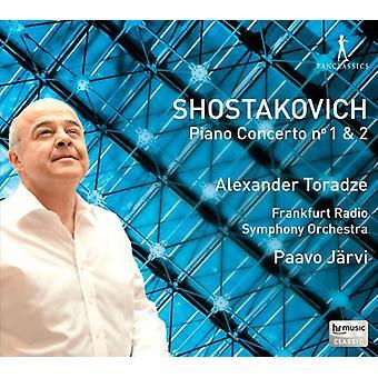 Schostakowitsch / Toradze - Pianokonzert Nr. 1 & 2/Concert [CD] USA import