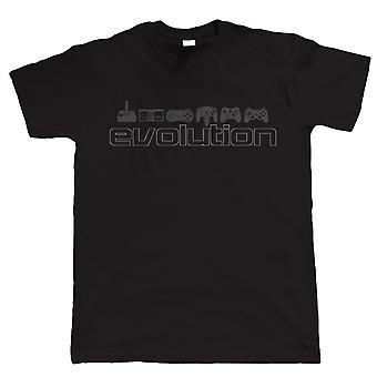 Evolution Of Video Games, Mens Funny Gaming Tshirt