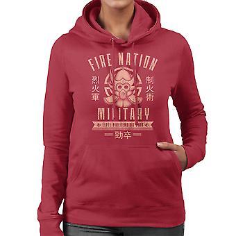Fire Is Fierce The Legend Of Korra Women's Hooded Sweatshirt