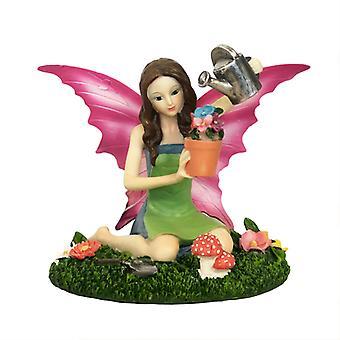 Aurora riddaretiden Garden Fairy statyett