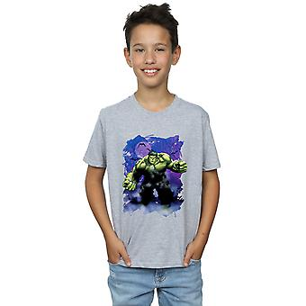 Marvel Boys Hulk Halloween Spooky Forest T-Shirt