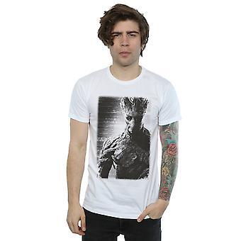 Verwonder u mannen hoeders van de Galaxy Groot Poster T-Shirt