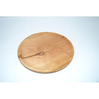 Madera tazón de madera plato de cuenco plano Schuessel hecho de madera de cerezo 22 cm de diámetro hecho a mano hecho en Austria decoración madera decoración madera decoración regalo idea regalo
