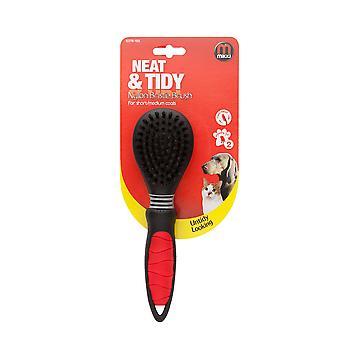 Interpet Limited Mikki Easy Grooming Nylon Bristle Brush