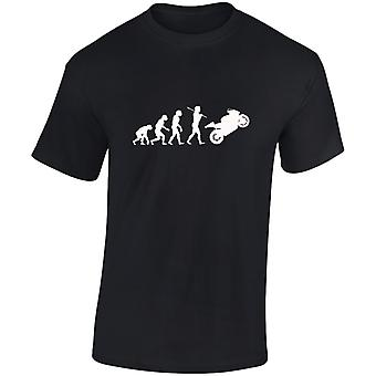 Bikes Evo Evolution Motorbike Kids Unisex T-Shirt 8 Colours (XS-XL) by swagwear