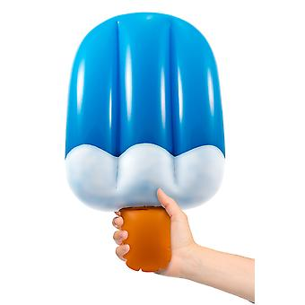 Inflatable popsicles blue circa 50cm