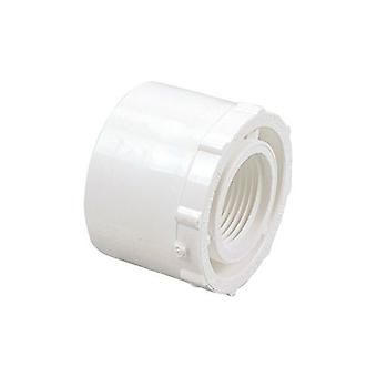 "Dura 438-248 2"" x 0.75"" Female PVC SCH40 Bushing 438248"