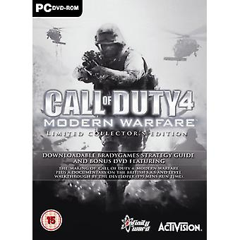 Call of Duty 4 Modern Warfare - Special Edition (PC DVD) - Nouveau