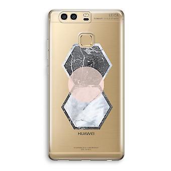 Huawei P9 gennemsigtig sag (Soft) - kreative indslag