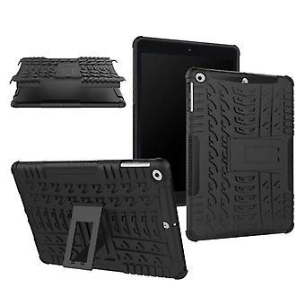Hybridi ulkouima suojus tapauksessa uusi Apple iPad 9,7 2017 laukku musta