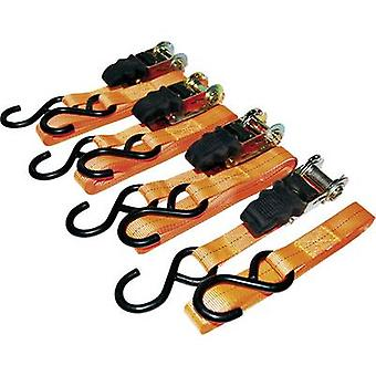 LAS 10301 Double strap Low lashing capacity (single/direct)=125 daN (L x W) 5 m x 25 mm