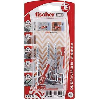 Conjunto de Fischer DUOPOWER passador 40mm 535219 1 conjunto