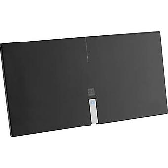 One For All SV 9435 DVB-T/T2 active planar antenna Indoors Amplification: 46 dB Black