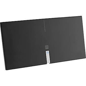Eine für alle SV 9435 DVB-T/T2 aktive planare Antenne drinnen Verstärkung: 46 dB schwarz