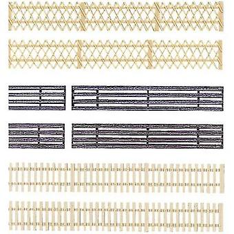 Auhagen 42 557 H0 Wooden fence Plastic