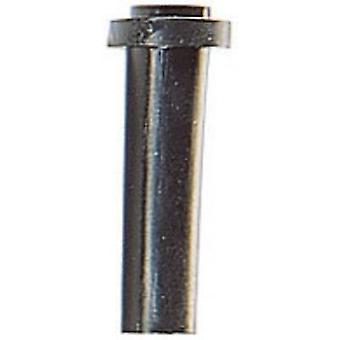 Scarico della piegatura HellermannTyton HV2213-PVC-BK-N1 terminale Ø (max) 3,5 mm PVC nero 1/PC