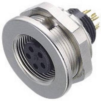 Binder 09-0424-00-07-1 Sub Miniatura Round Plug Connector Series Corrente nominal (detalhes): 1 A