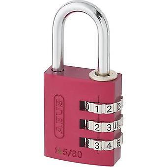 ABUS ABVS46615 Padlock 31.5 mm Red Combination