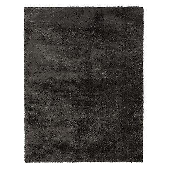 Alfombras de terciopelo llano carbón rectángulo alfombras llano casi llanos