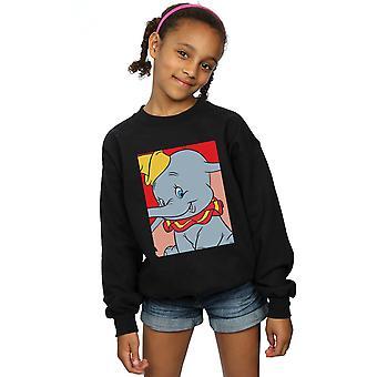 Disney Girls Dumbo Portrait Sweatshirt