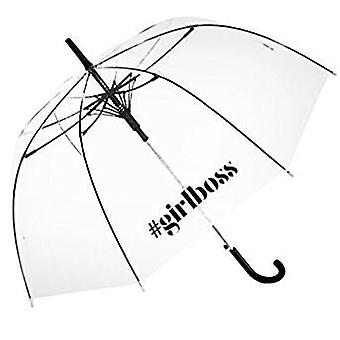 Straight Clear Umbrella (Girlboss)