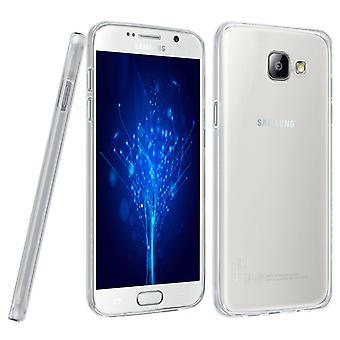 Ultra portable mince couverture cas TPU mobile Samsung Galaxy J5 2016 transparent clair