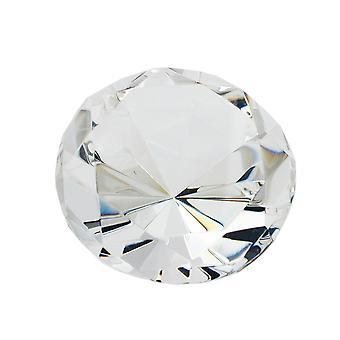 Tabel centerpieces tabel decoraties glas blok vorm diamant, kristalhelder