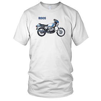 BMW R100S klassisches Motorrad Motorrad Bike Herren T Shirt