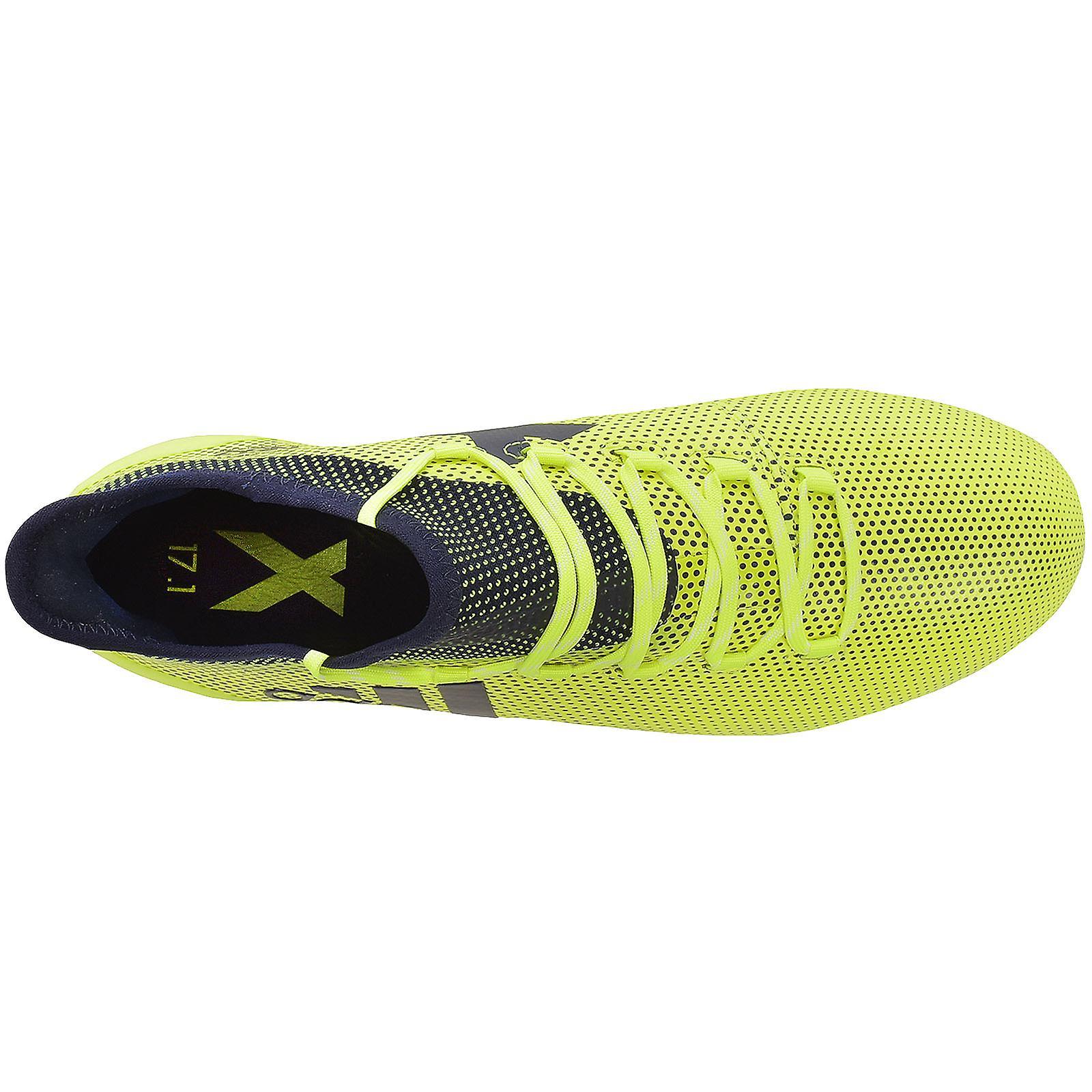 Adidas Performance Mens X 17,1 FG calcio sport stivali scarpe - giallo  SvlpVz
