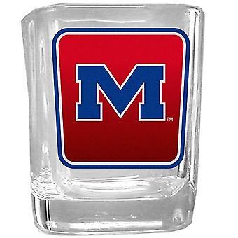 Ole Miss Rebels NCAA Logo Shot Glass