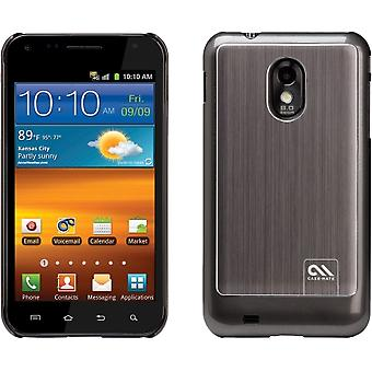 Case-Mate Barely There Case Brushed Aluminum for Samsung Galaxy S II Epic Touch 4G SPH-D710 (Silver)
