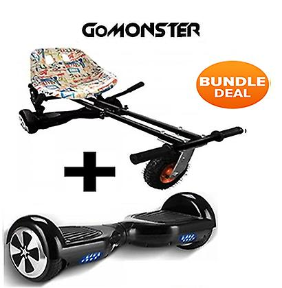 "Monster Hoverkart & 6,5 ""Bluetooth Hoverboard Graffiti gå Monster Bundle"
