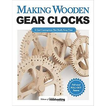 Making Wooden Gear Clocks by Scroll Saw Woodworking and Crafts Magazi