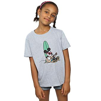 Disney dievčatá Mickey Mouse Surf a chill T-shirt