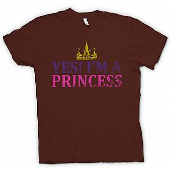 Kids T-shirt - Yes Im A Princess - Funny