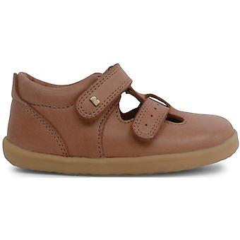 Bobux Step Up Jack & Jill scarpe caramello
